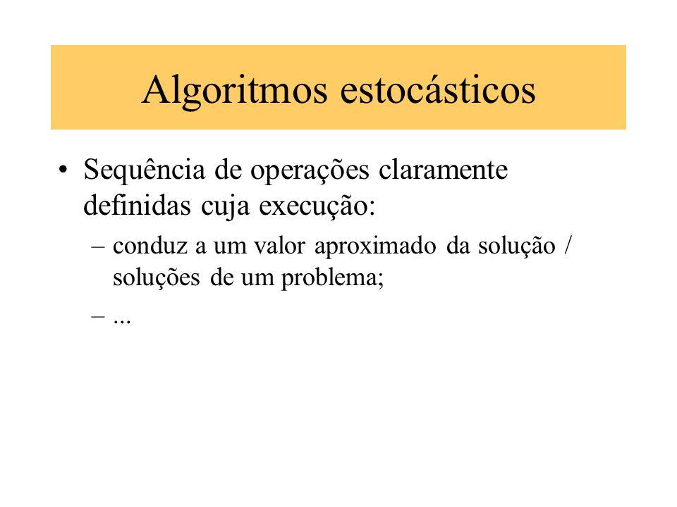 Algoritmos estocásticos