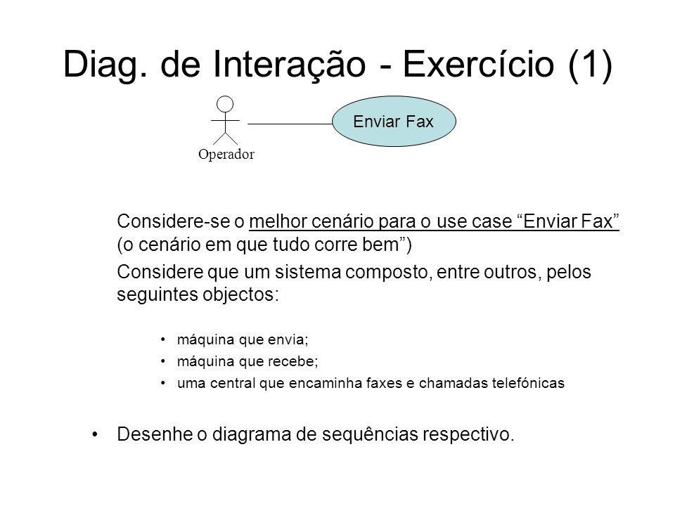 Diag. de Interação - Exercício (1)