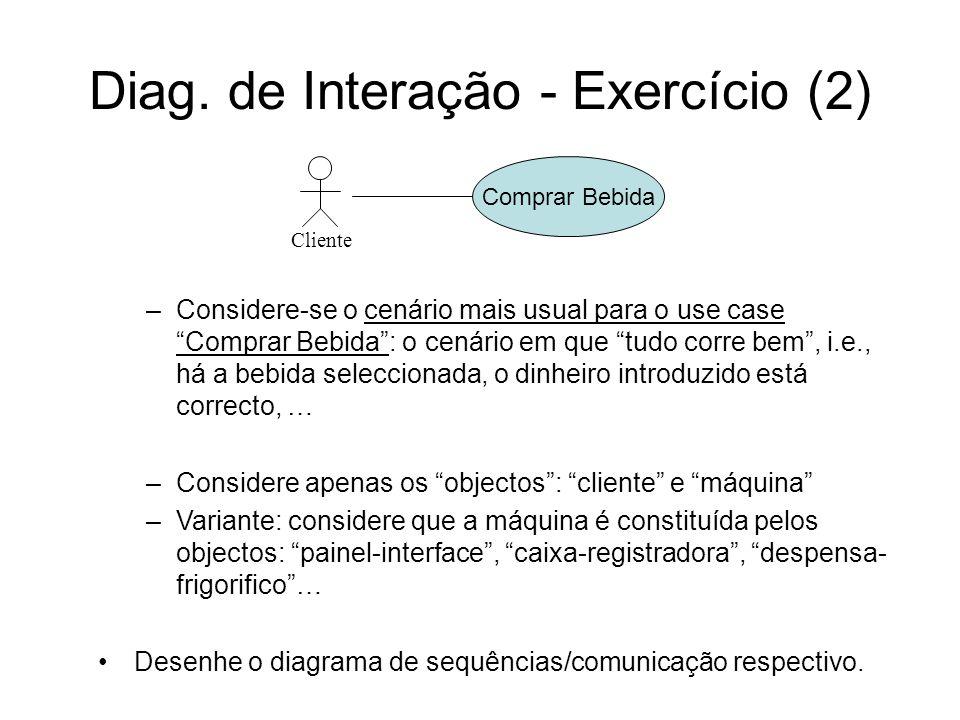 Diag. de Interação - Exercício (2)