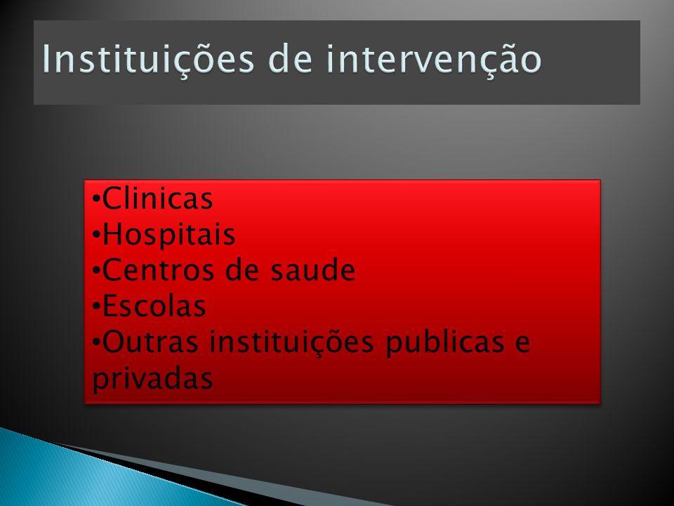 Instituições de intervenção