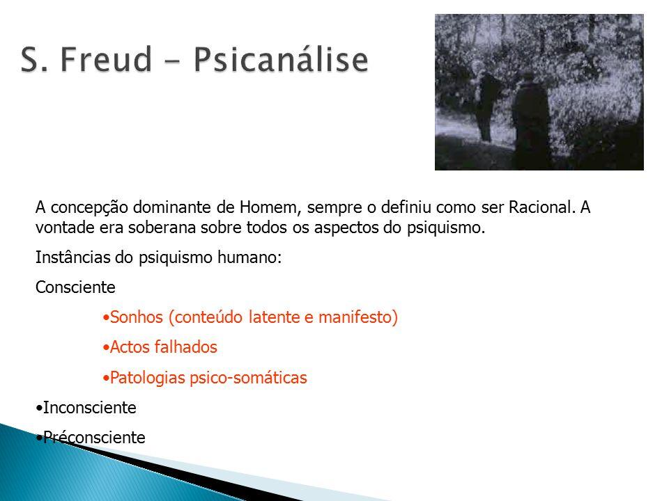 S. Freud - Psicanálise