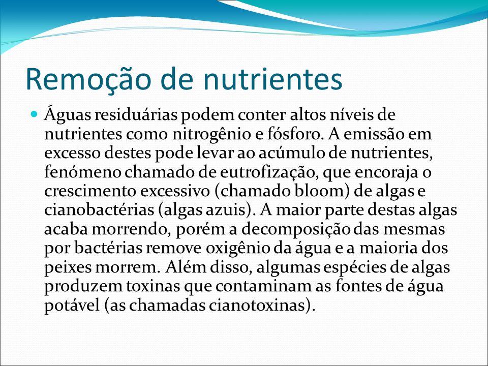 Remoção de nutrientes