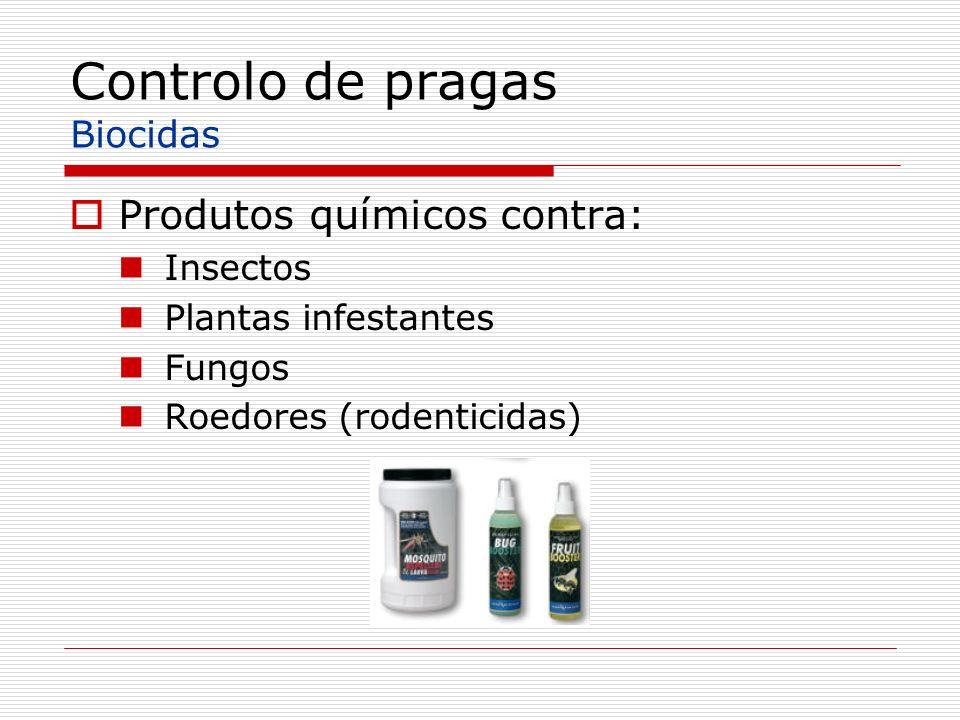 Controlo de pragas Biocidas