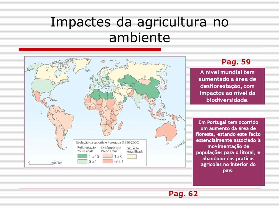 Impactes da agricultura no ambiente