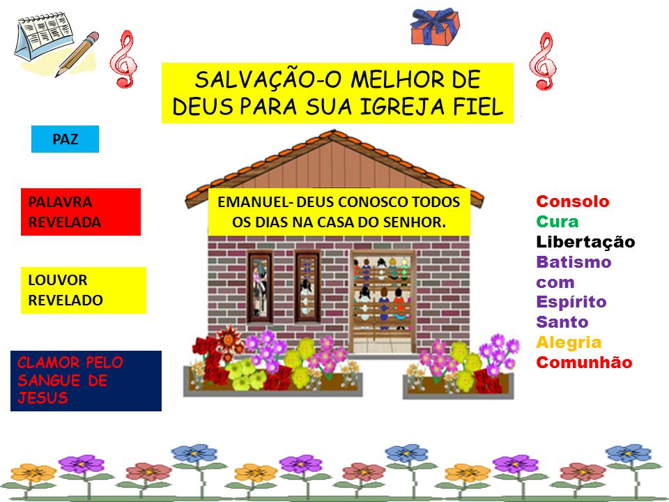 EMANUEL- DEUS CONOSCO TODOS OS DIAS NA CASA DO SENHOR.