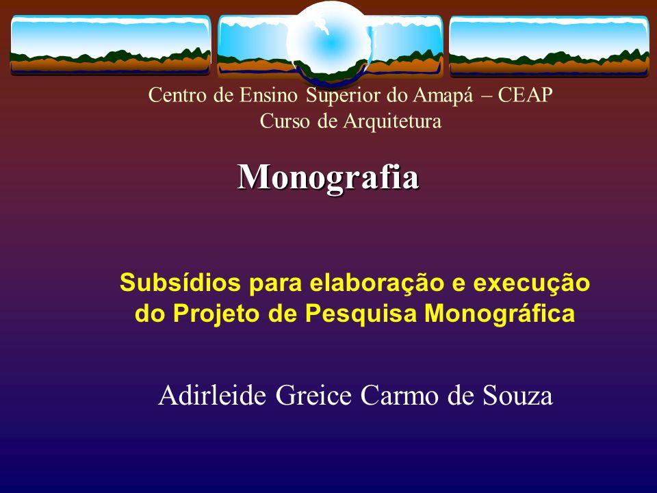 Monografia Adirleide Greice Carmo de Souza