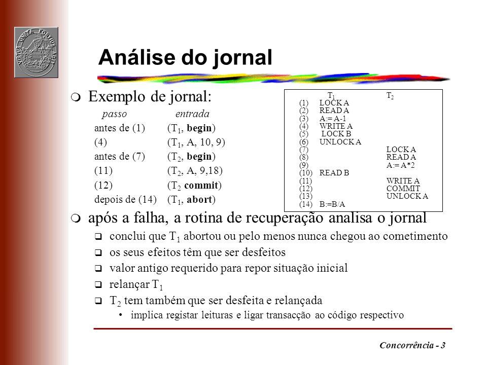 Análise do jornal Exemplo de jornal: