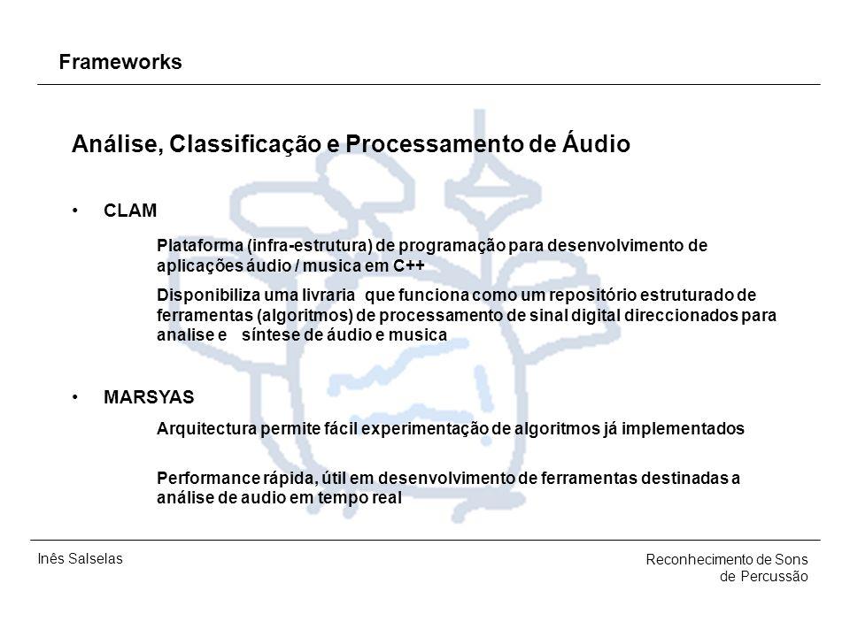 Análise, Classificação e Processamento de Áudio