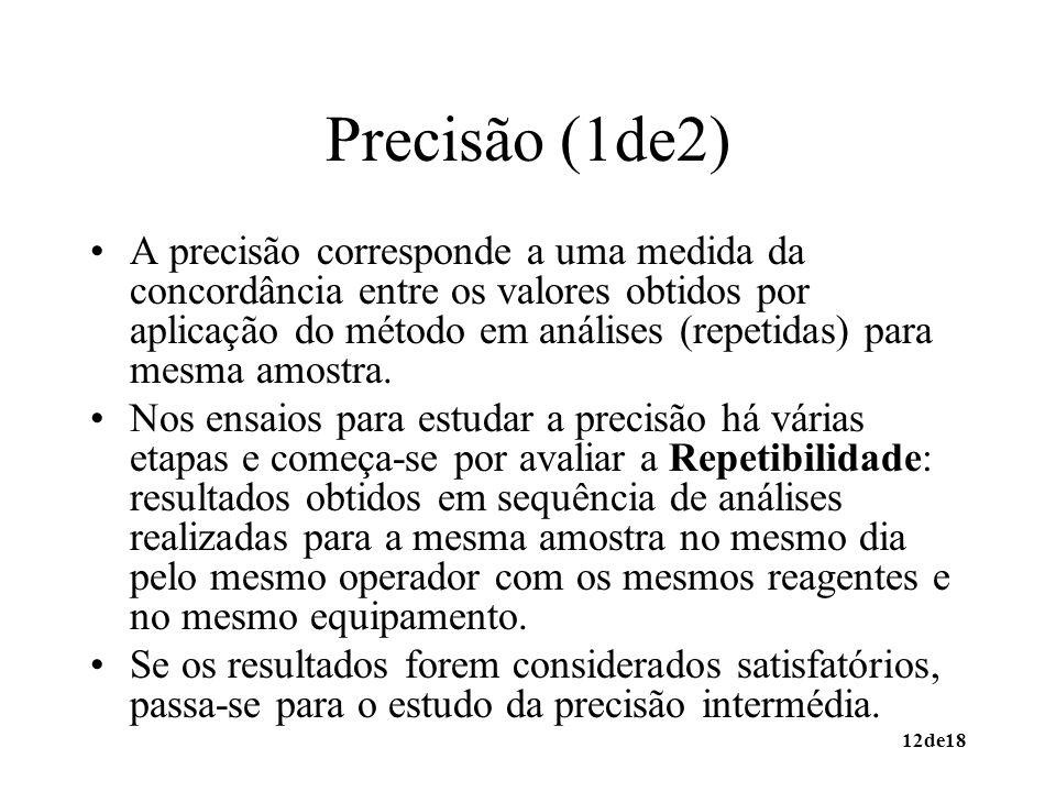 Precisão (1de2)