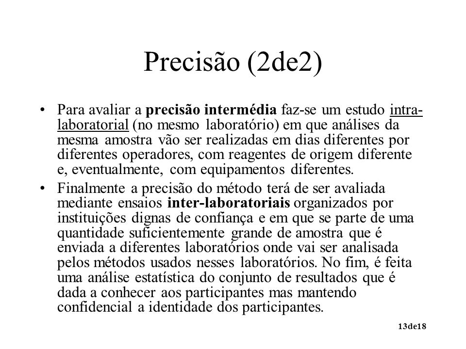 Precisão (2de2)