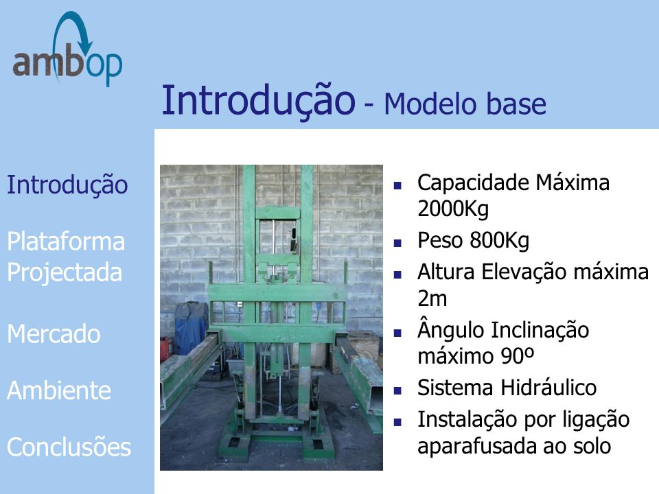 Introdução - Modelo base