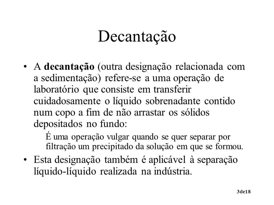 Decantação