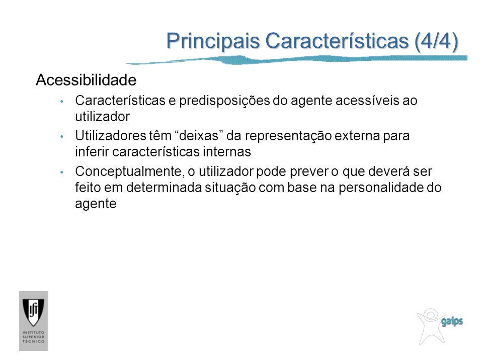 Principais Características (4/4)