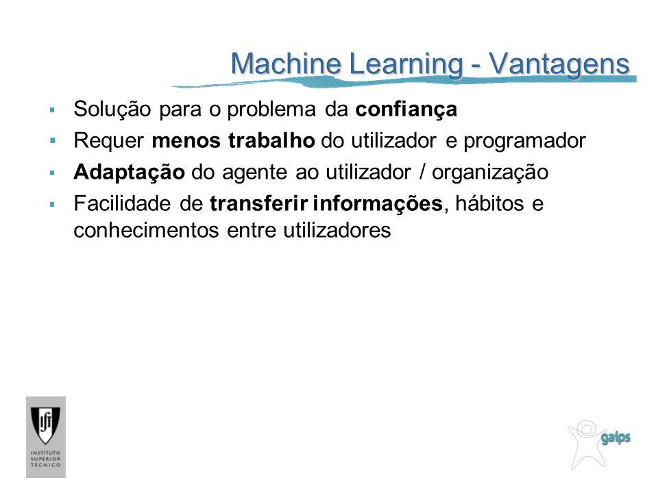 Machine Learning - Vantagens