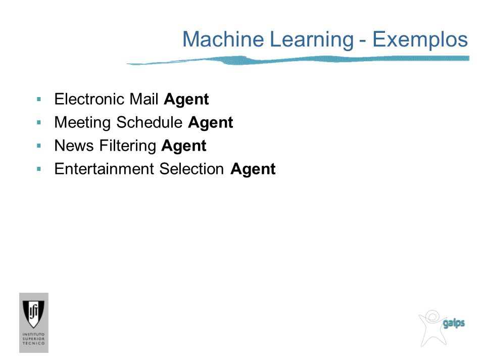 Machine Learning - Exemplos