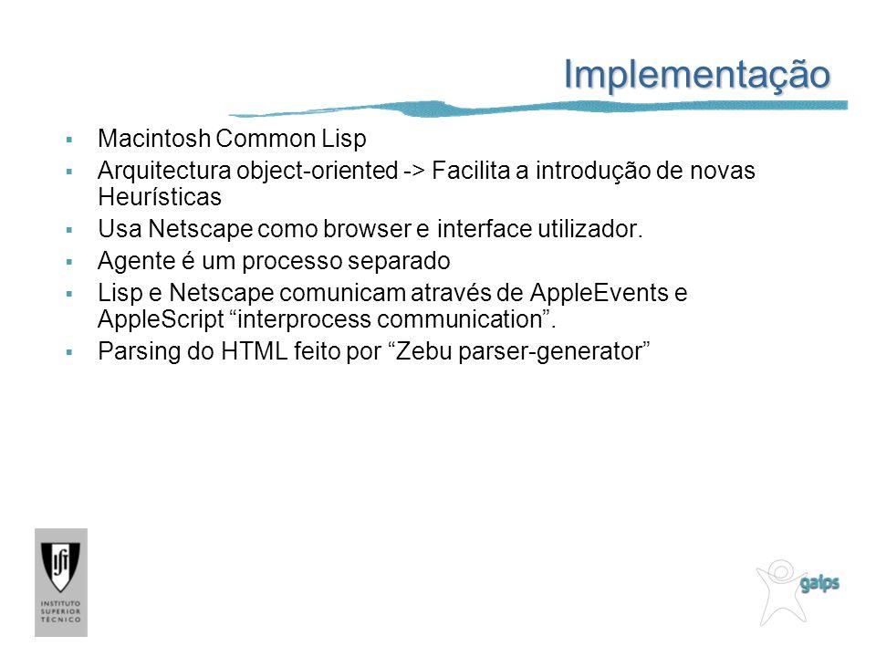 Implementação Macintosh Common Lisp