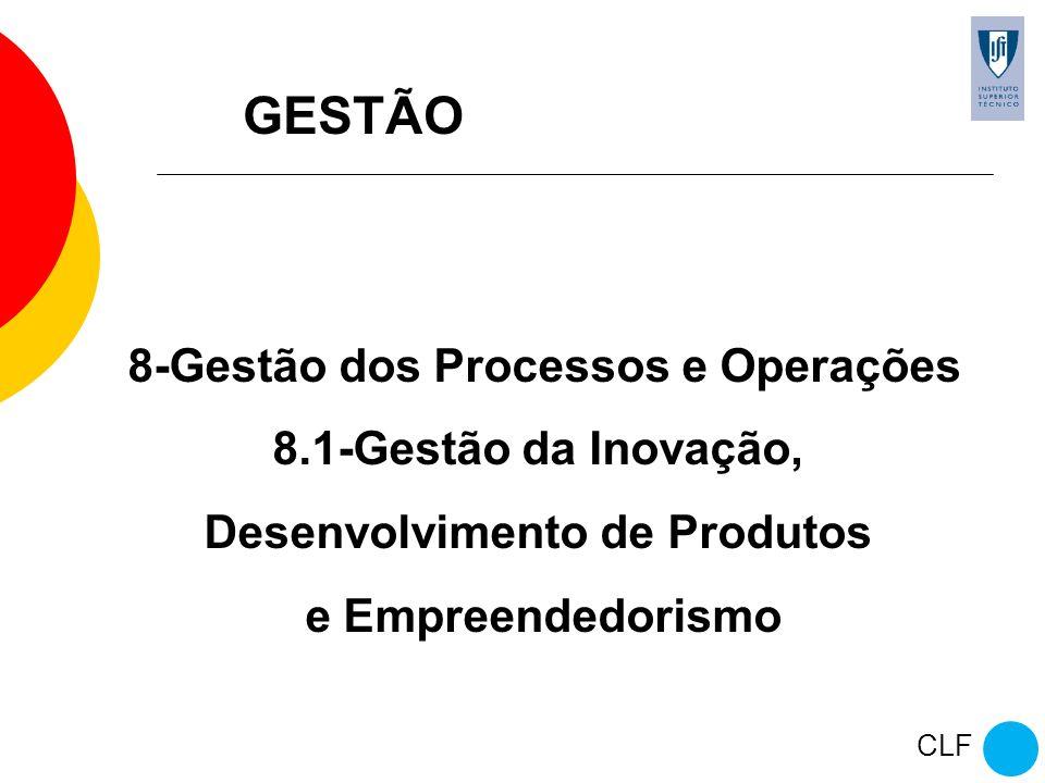 8-Gestão dos Processos e Operações Desenvolvimento de Produtos