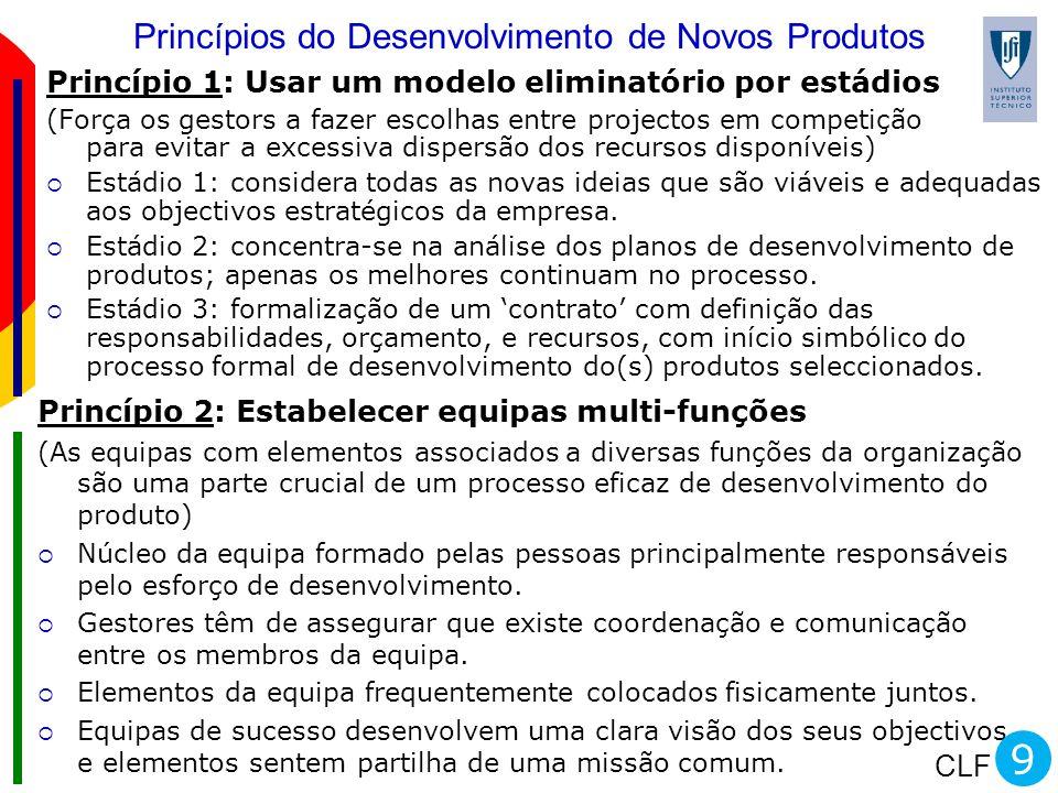 Princípios do Desenvolvimento de Novos Produtos