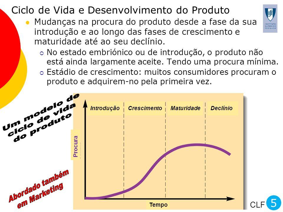 5 Ciclo de Vida e Desenvolvimento do Produto