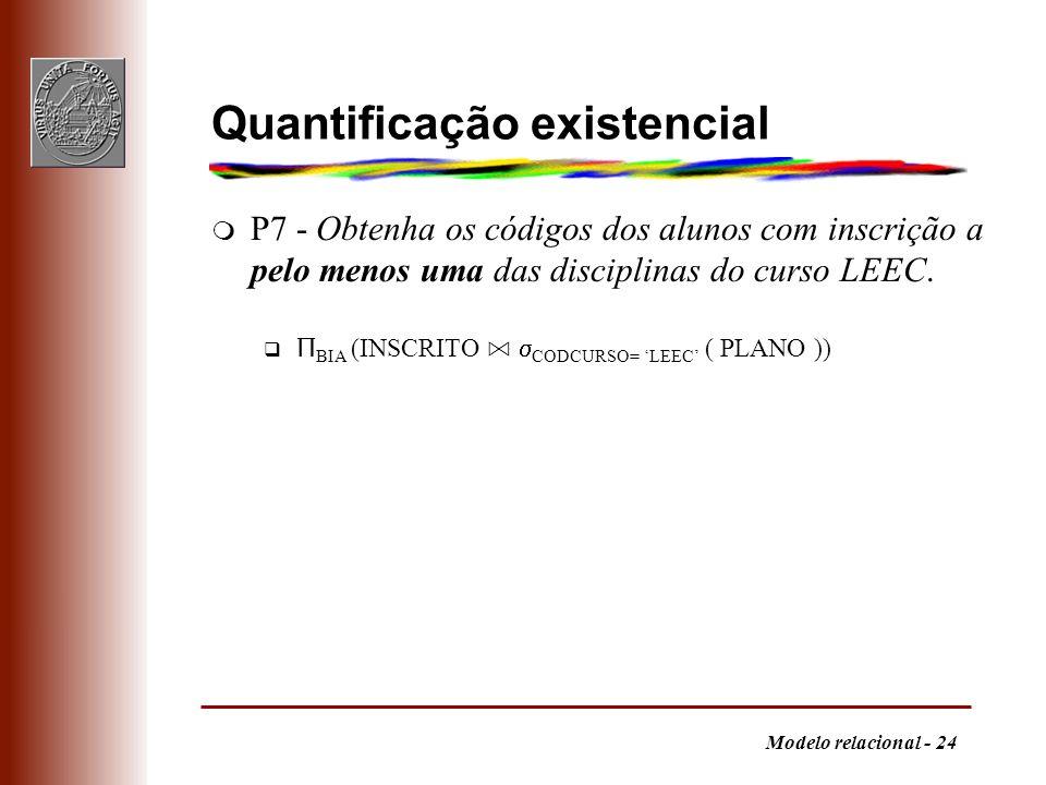Quantificação existencial