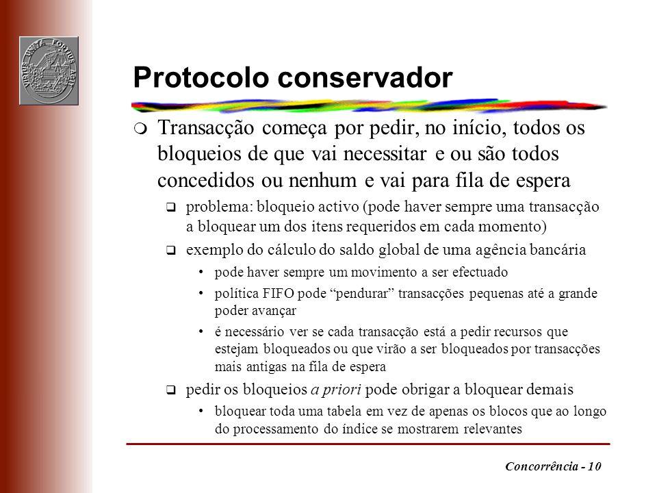 Protocolo conservador
