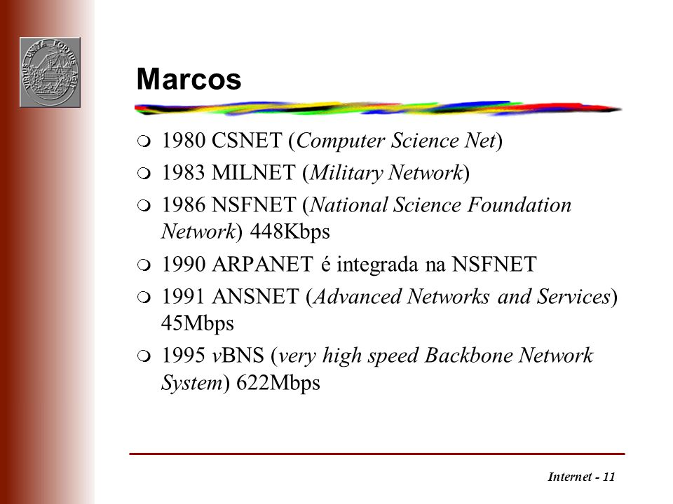 Marcos 1980 CSNET (Computer Science Net)