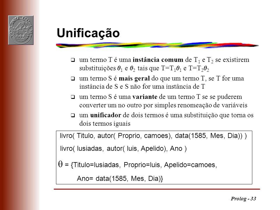 Unificação  = {Titulo=lusiadas, Proprio=luis, Apelido=camoes,