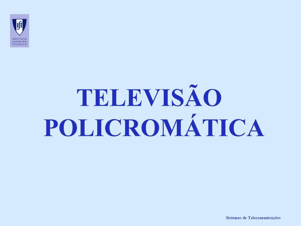 TELEVISÃO POLICROMÁTICA