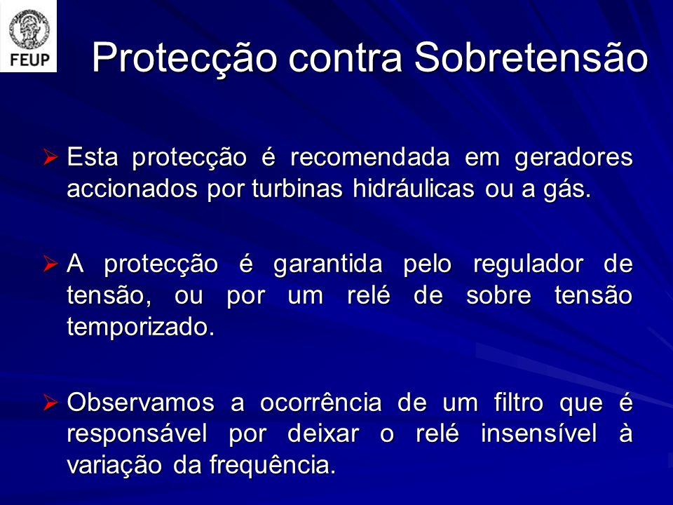Protecção contra Sobretensão