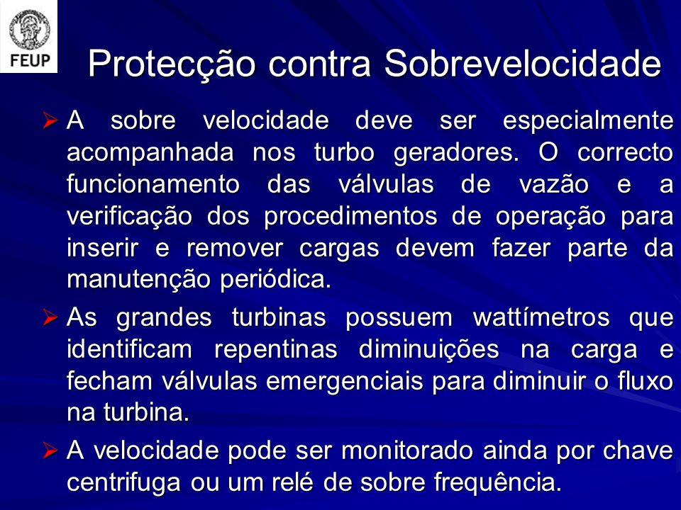 Protecção contra Sobrevelocidade