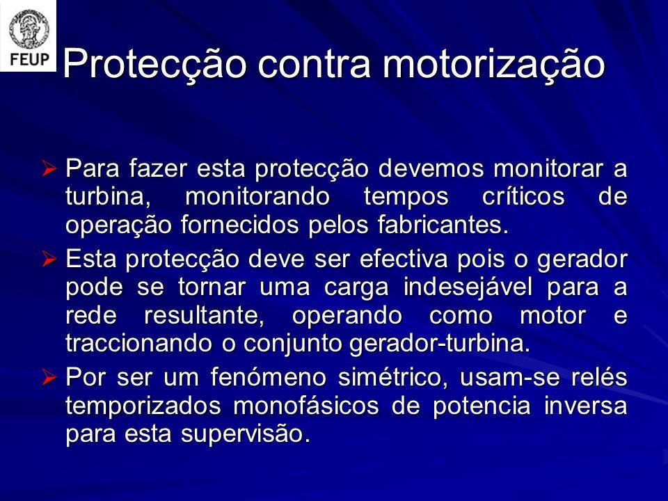 Protecção contra motorização