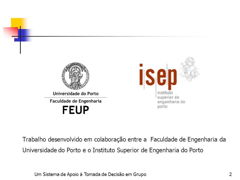 Trabalho desenvolvido em colaboração entre a Faculdade de Engenharia da Universidade do Porto e o Instituto Superior de Engenharia do Porto