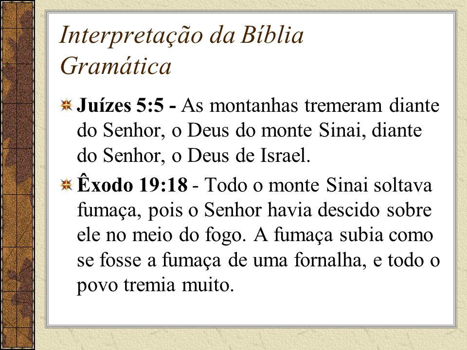 Interpretação da Bíblia Gramática