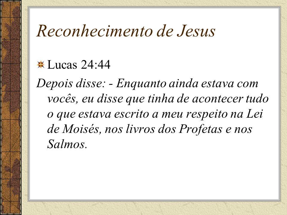 Reconhecimento de Jesus