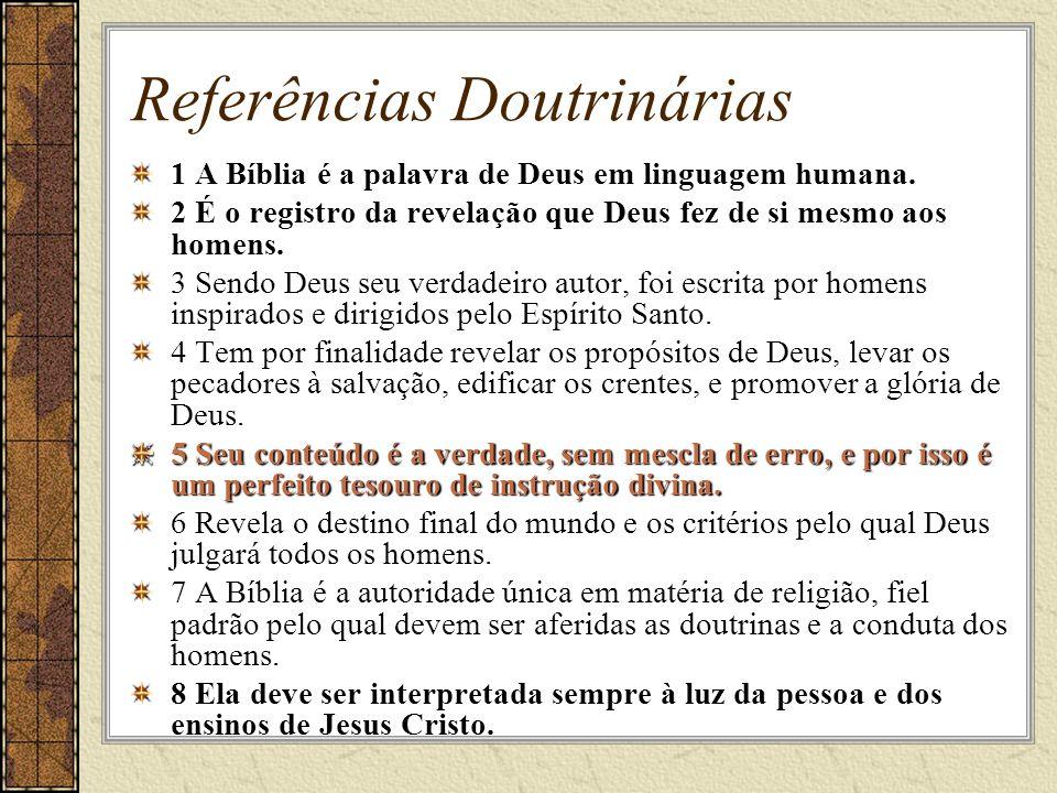 Referências Doutrinárias