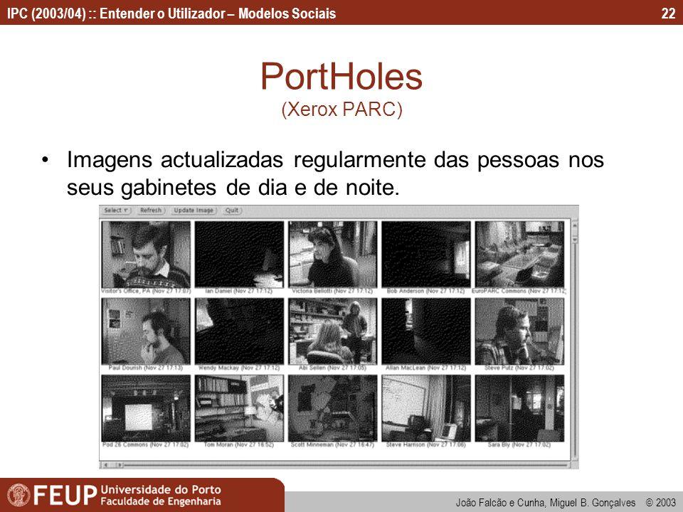 PortHoles (Xerox PARC)