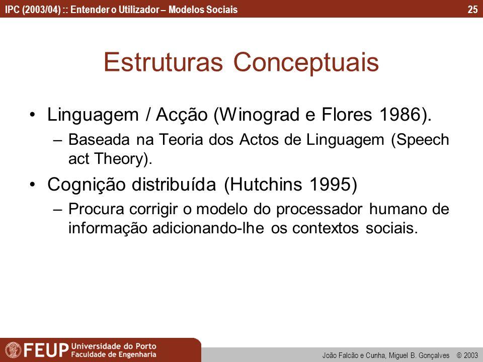 Estruturas Conceptuais