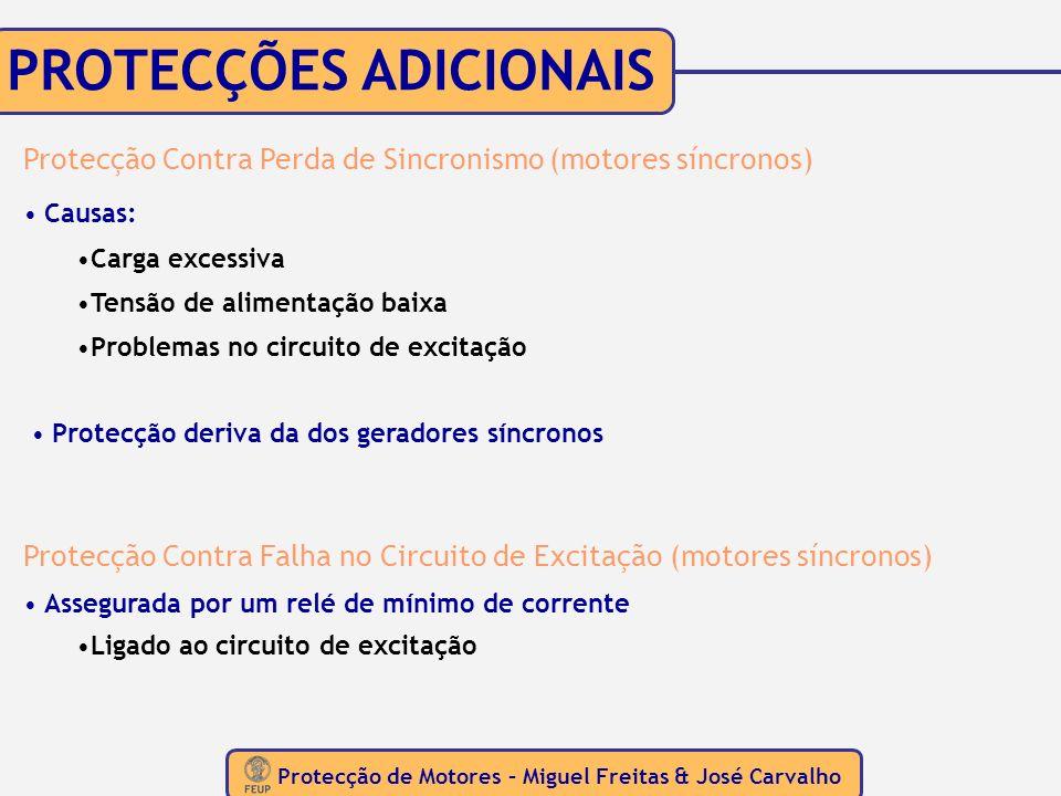 Protecção de Motores – Miguel Freitas & José Carvalho