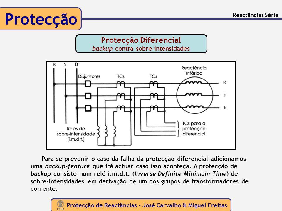 Protecção Diferencial backup contra sobre-intensidades