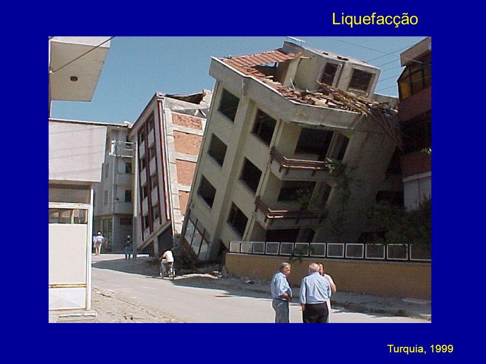 Liquefacção Turquia, 1999