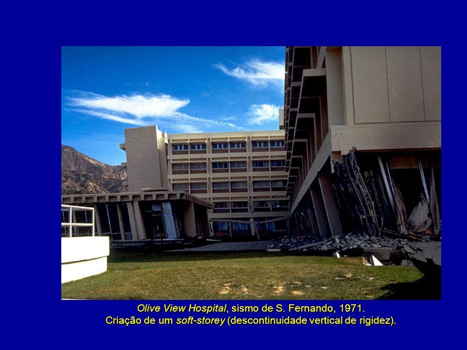 Olive View Hospital, sismo de S. Fernando, 1971