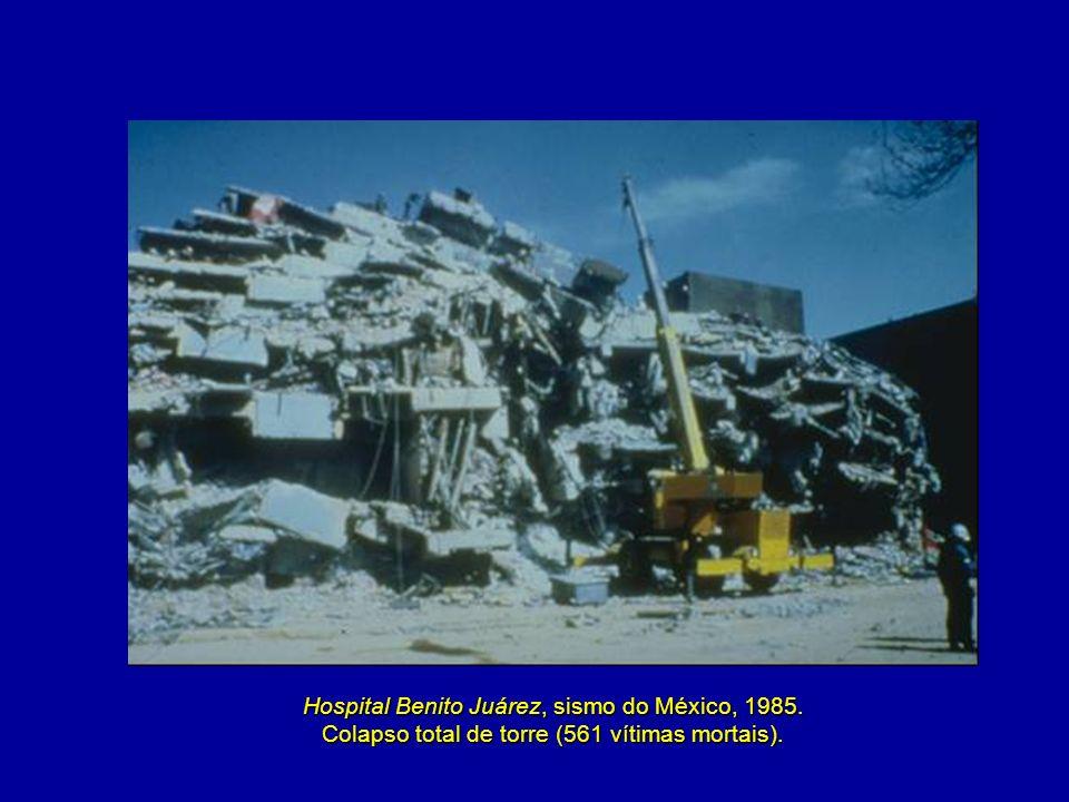 Hospital Benito Juárez, sismo do México, 1985