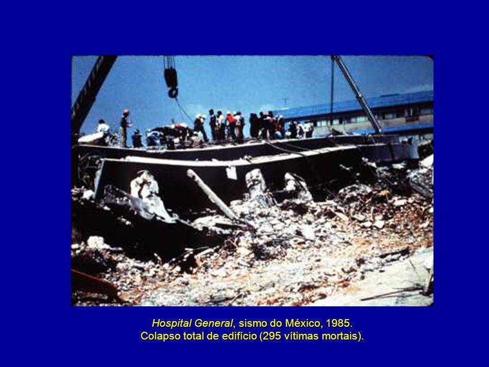 Hospital General, sismo do México, 1985