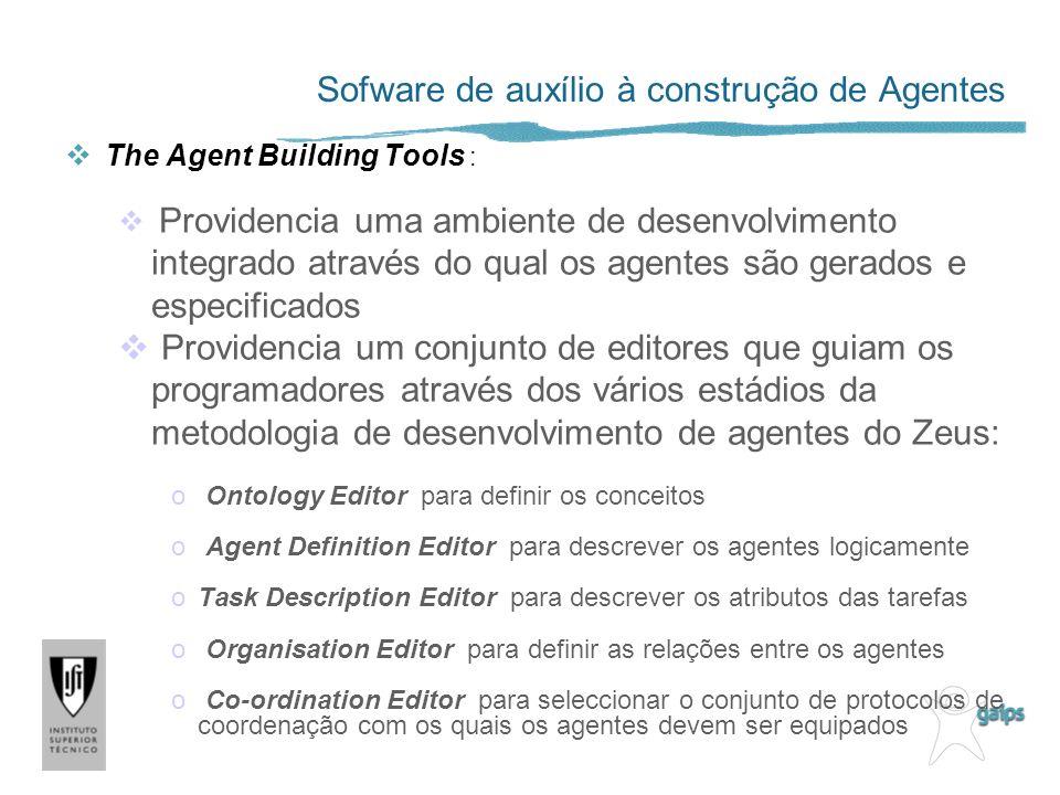 Sofware de auxílio à construção de Agentes