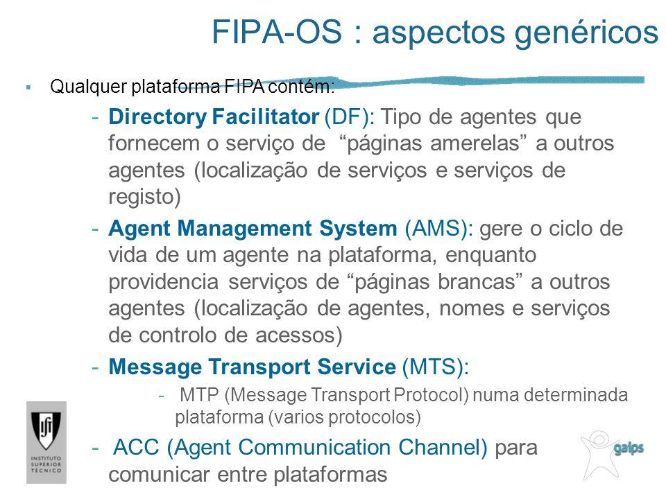 FIPA-OS : aspectos genéricos