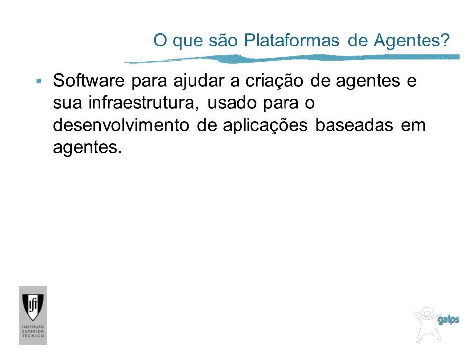 O que são Plataformas de Agentes