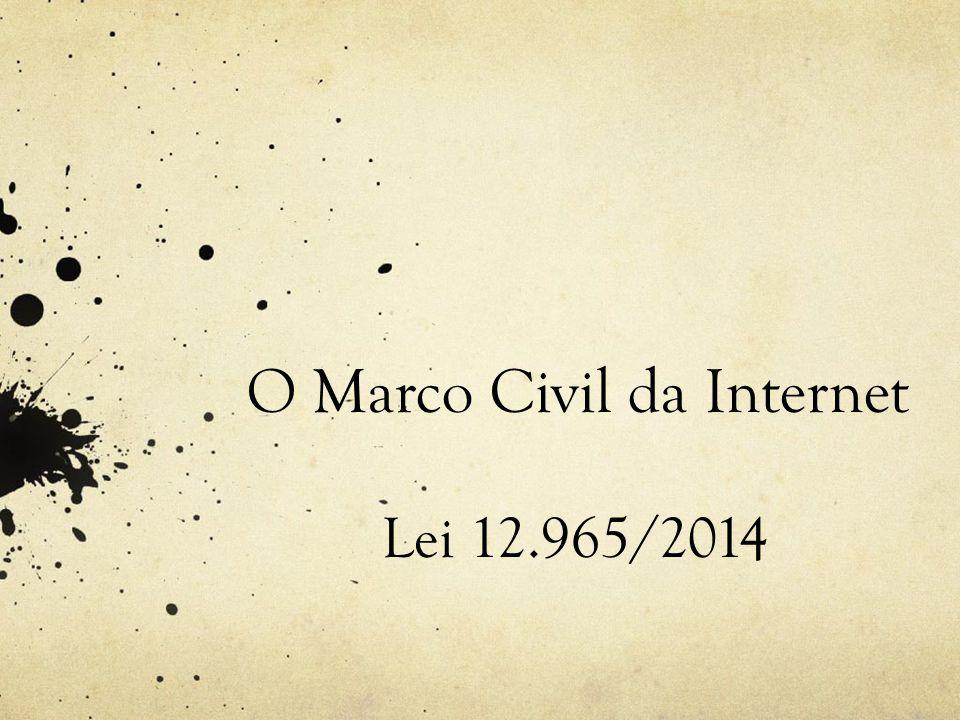 marco civil da internet pdf