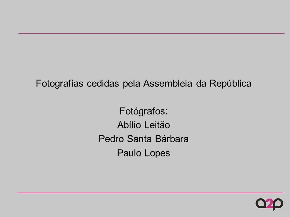 Fotografias cedidas pela Assembleia da República