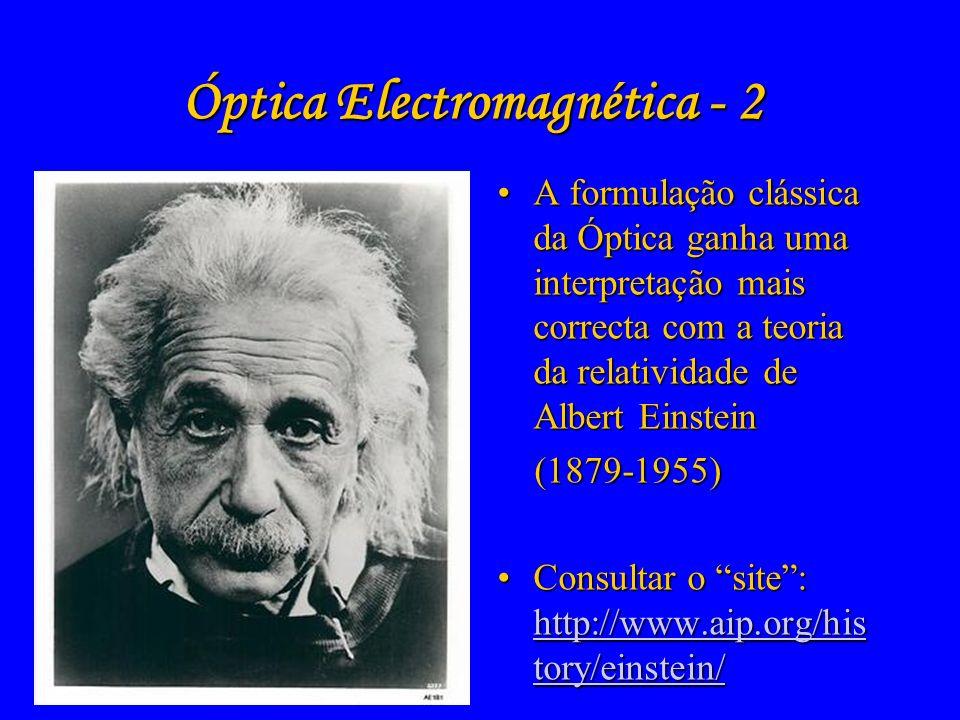 Óptica Electromagnética - 2