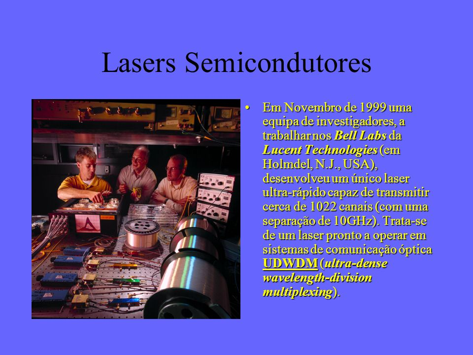 Lasers Semicondutores